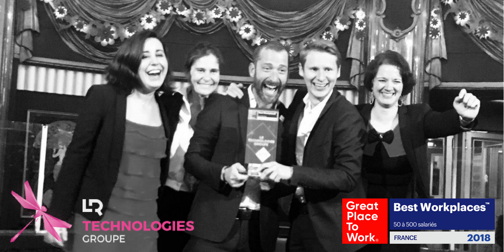 Nous sommes 13e au classement Great Place To Work 2018 !