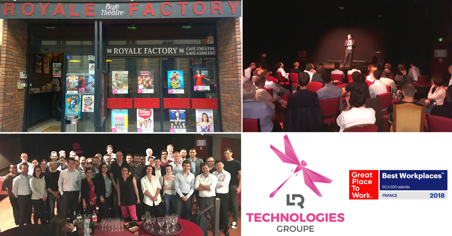 LR Technologies Groupe au Royale Factory